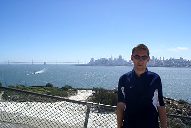 Paul Denton and San Francisco in the background