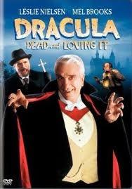 Count Dracula Played by Leslie Nielson