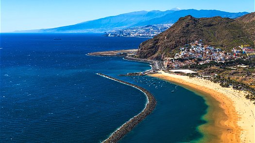 Stunning beaches and coastline in Tenerife