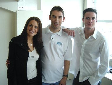 Susi Amy, Gary Lucy and Paul Denton