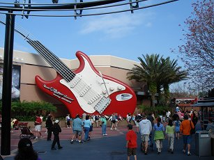 rock and rollercoaster at Disney Hollywood Studios Florida