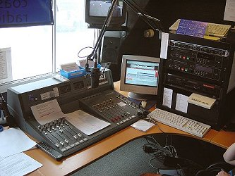 Yorkshire Coast Radio studio